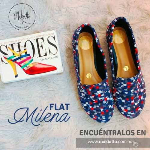 FLATS MILENA MAKIATTO BY PAULINA ANDA